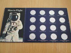 MAN IN FLIGHT ALBUM AND COINS Coins, Album, Rooms, Card Book