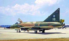 USAF Convair F-102A Delta Dagger of the 159th FIS Florida ANG, 1972.