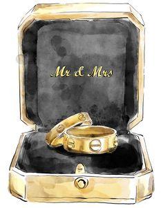 Wedding Cards, Diy Wedding, Wedding Events, Wedding Painting, Photo Collage Template, Wedding Illustration, Cute Girl Drawing, Bday Cards, Mr And Mrs Wedding