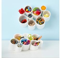 modern toy storage by The Land of Nod