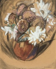 Still life of flowers, 1917 by Gustave de Smet