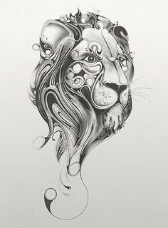 Swirly lion#Repin By:Pinterest++ for iPad#