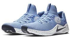 2554f4ba442e9 North Carolina Tar Heels Nike NCAA Men s Free Trainer V8 Week Zero Shoes