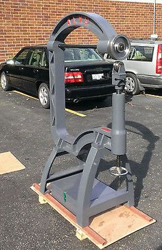 English wheel cast iron frame 35 inch throat  with box of many extra tools