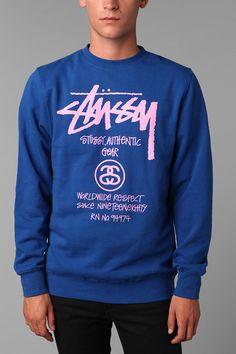 Stussy Authentic Tour Crew Sweatshirt