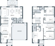 The Burnley 243 makes smart use of its extra space by adding a multi-purpose room upstairs that gives the whole design even more lifestyle flexibility. With...