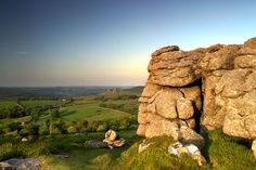 Top Tor, Dartmoor, Devon, England