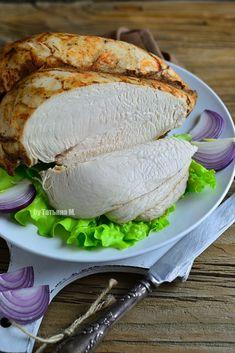 Острая куриная грудка на пару за 30 минут