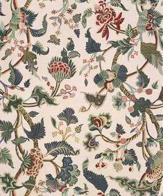Bennison Crewelwork Fabric