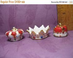 SALE KING'S Crown Gold Royal Headdress King Queen