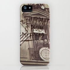 THE INTERNET FOR PRESIDENT iPhone & iPod Case by Josh LaFayette - $35.00