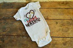 Chd Heart Warrior Chd Awareness Month Chd Awareness Shirt Or Onesie Congenital Heart Defect
