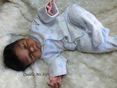 CMS -  AA / Ethnic Biracial Reborn Baby Boy