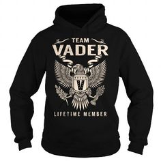 Awesome Tee Team VADER Lifetime Member - Last Name, Surname T-Shirt T-Shirts