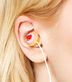 Cupcake earphones!!!!!!!!!!!!!