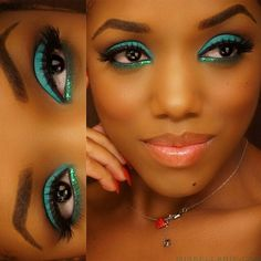 Perfect holiday wow eye color