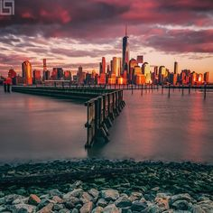 Manhattan skyline by Paul Seibert Photography - The Best Photos and Videos of New York City including the Statue of Liberty, Brooklyn Bridge, Central Park, Empire State Building, Chrysler Building and other popular New York places and attractions. Manhattan Skyline, New York Skyline, New York Tattoo, Brooklyn Nyc, Brooklyn Bridge, New York Photography, Empire State Of Mind, New York City Travel, Cultural Experience
