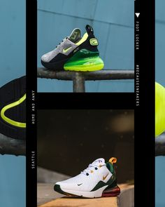 """finest selection 53061 50348  Seattle  BecauseSneakers  Nike Air Max 270 Home   Away  Seattle  Available  Now, In-Store and Online"""""""