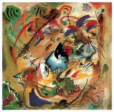 Improvisation (Dreamy), 1913, Wassily Kandinsky Size: 130.7x130.7 cm Medium: oil on canvas