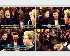 Niall and Louis.. lol