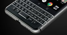 BlackBerry KeyOne is BlackBerry's newest flagship device that runs Android OS. It is sure to bring that those fond memories of using a BlackBerry device. Blackberry Devices, Blackberry Phones, Blackberry Passport, Blackberry Keyone, What Is Cell, Phone Jokes, Amazon Gadgets, Cheap Cell Phones, Latest Mobile