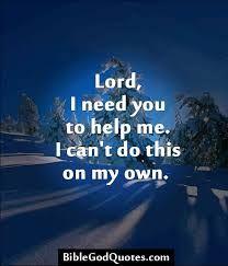 Help me, Lord Jesus!