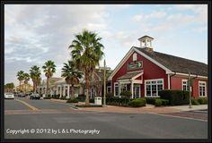 Entering Main Street toward Sumter Landing, The Villages, FL