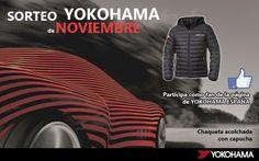 Gana una chaqueta acolchada para este invierno con YOKOHAMA.