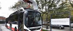 Autobús híbrido en Hamburgo