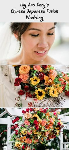 Lily And Cory's Chinese Japanese Fusion Wedding - Backyard İdeas  #Backyard #Chinese #Corys #Fusion #ideas #Japanese #Lily #Wedding