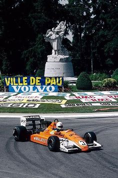 Pierluigi Martini - Ralt RT20/86 [6] Cosworth DFV/Mader - Luciano Pavesi Team - XLVII Grand Prix Automobile de Pau - 1987 Intercontinental Formula 3000 Championship, round 4 - © Sutton Motorsport Images