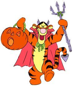 Disney clip art disney tigger halloween clipart disney clipart â. Tigger Halloween, Halloween Cartoons, Halloween Clipart, Disney Halloween, Origami Halloween, Winne The Pooh, Winnie The Pooh Friends, Tigger Disney, Eeyore