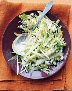 Celery Endive Slaw Recipe