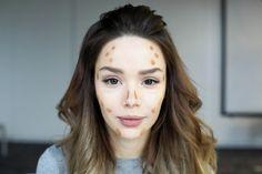 бьюти-блогер Мария Вэй рассказывает и показывает на собственном примере, как скорректировать овал лица и оттенок кожи с помощью макияжа.