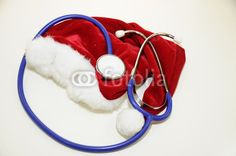 doctor at christmas (symbol pic)