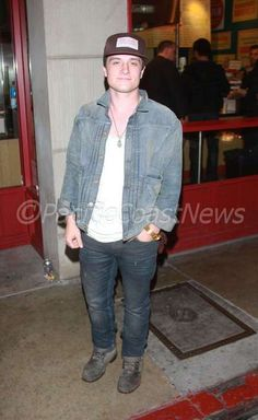 Spotted: Josh Hutcherson in a Canadian Tuxedo in Hollywood