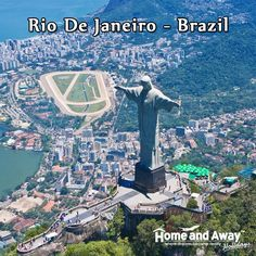 """#RiodeJaneiro is a huge seaside city in #Brazil, famous for its Copacabana beaches, Rio Carnival and One of the 7 wonders of the world """"Christ the Redeemer"""". Book your Holidays to Rio de Janeiro only with Home and Away Holidays. Speak to our Holiday expert on 0116 237 2535"""