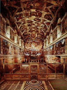 The Sistene Chapel, Italy