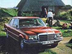 Mercedes W116 (1972) #mercedes