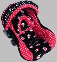 Baby Ladybugs Baby Car Seat Cover