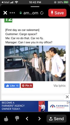 Car Salesman, I Can, How To Become, Day, Funny, Ha Ha, Hilarious