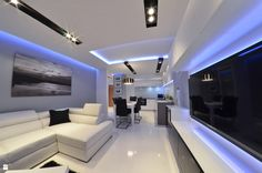 Beauty Room, Decoration, House Design, Living Room, Interior Design, Modern, Home Decor, Lighting, Arquitetura