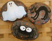 Reserved for Connie...Halloween Painted Rocks