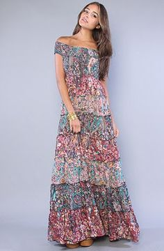 Freepeople the floral cascade Maxi.