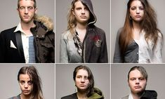 The two sides of drug abuse: The startling photos that show the ravaging effects of substance addiction