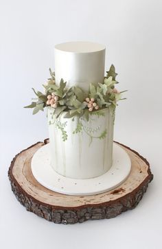 Subtle, muted colors by Faye Cahill Cake Design