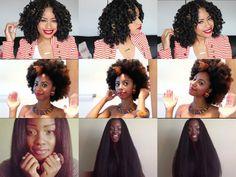 5 vidéos de superbes coiffures de crochets braids à réaliser cet été ! | Nana'Secret Box