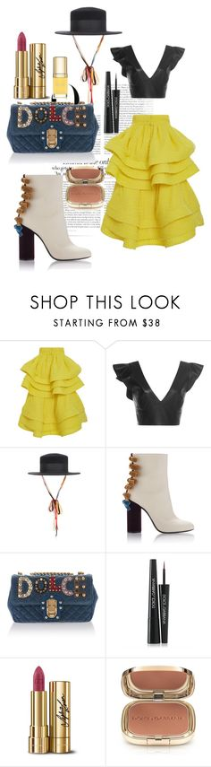 """""""Flamenco Olé 2"""" by fabianajuan ❤ liked on Polyvore featuring Vanity Fair, Isabel Marant and Dolce&Gabbana"""
