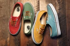 """Vans Authentic """"Brushed Twill"""" 