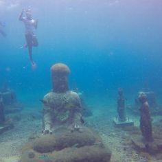 Buddha spot, Nusa Penida Bali